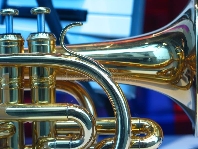 trumpet стоковое изображение rf