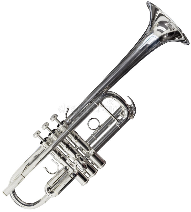 Download Trumpet Cutout Royalty Free Stock Photography - Image: 17041997