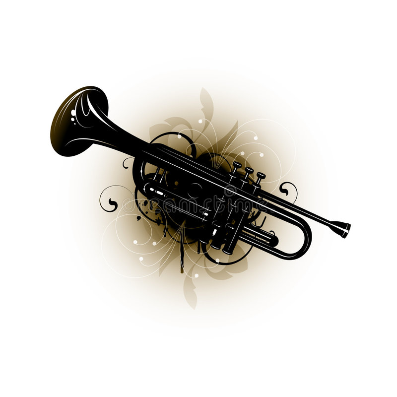 Free Trumpet Design Stock Images - 9091444