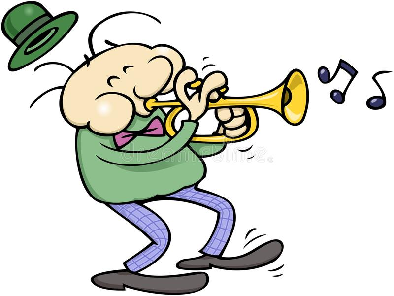 Download Trumpet musician stock vector. Image of notes, trumpet - 10517581