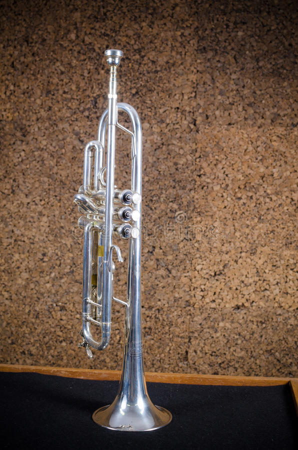 Trumpet royalty free stock images