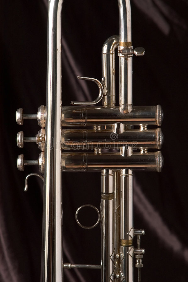 Download Trumpet valves stock image. Image of valve, tubing, silver - 5995