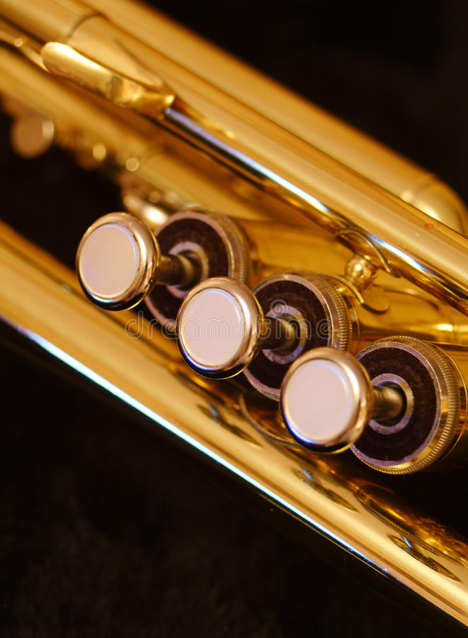 Download Trumpet valves stock photo. Image of notes, blur, trumpet - 16548656
