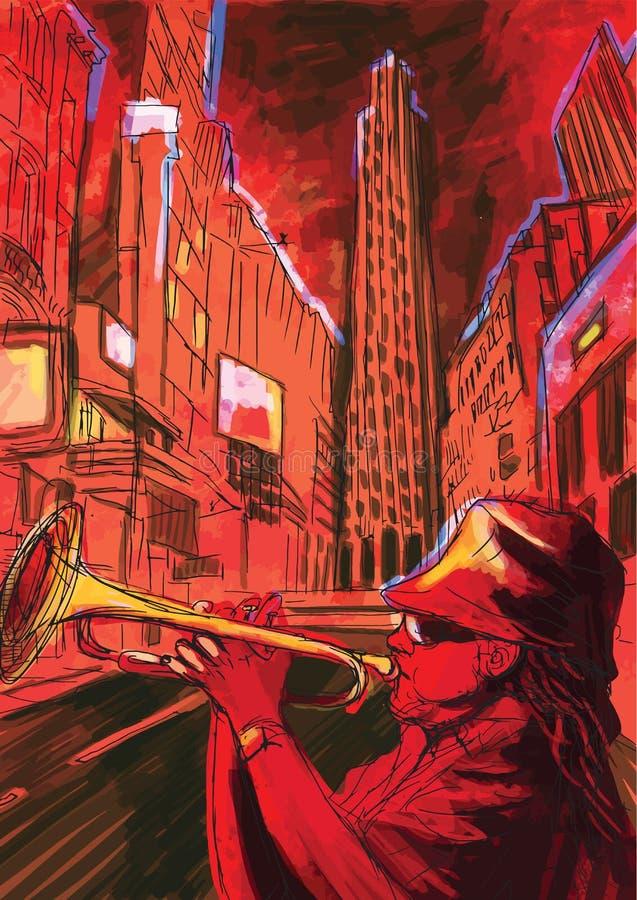 Trumpeter ελεύθερη απεικόνιση δικαιώματος