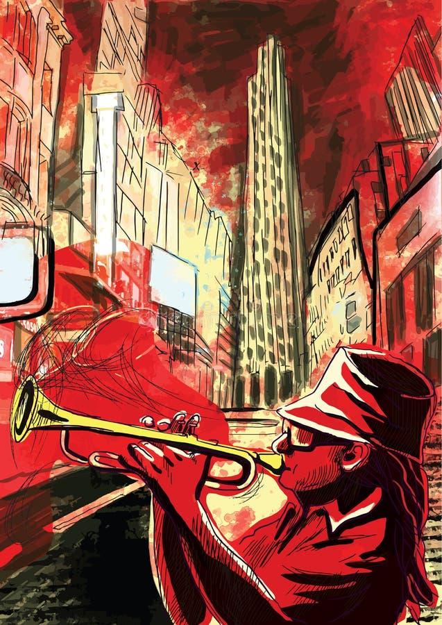 Trumpeter απεικόνιση αποθεμάτων