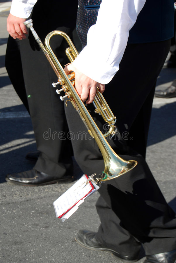 Trumpeter Royalty Free Stock Photos