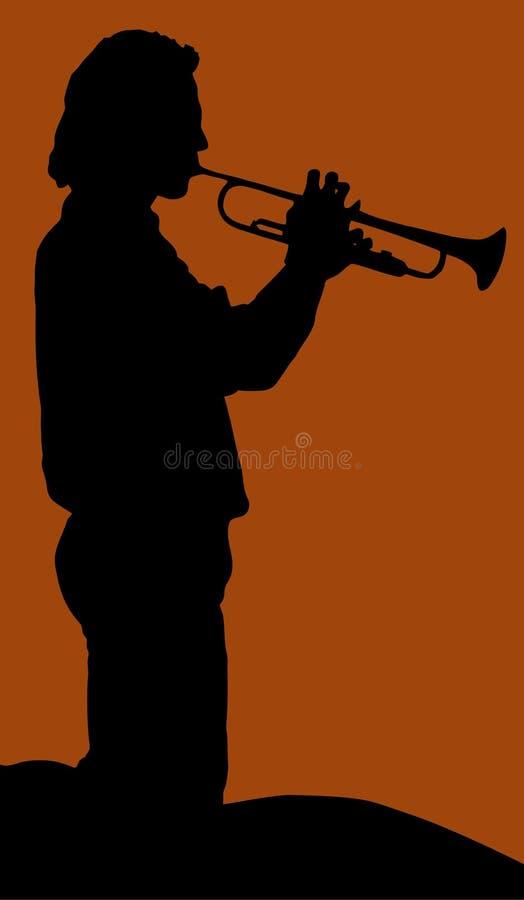 Download Trumpetist man stock vector. Image of trumpet, play, artist - 14964874