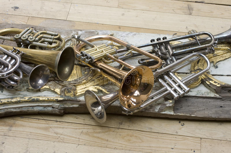 Download Trumpets Royalty Free Stock Images - Image: 12945659