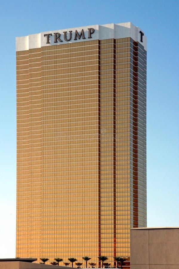 Trumpf-Kontrollturm stockbild