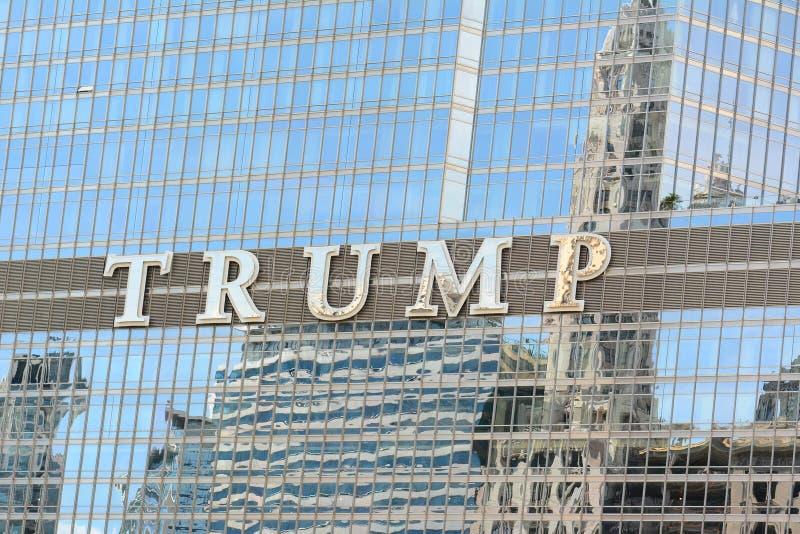 TRUMPF-KONTROLLTURM CHICAGO stockfotografie