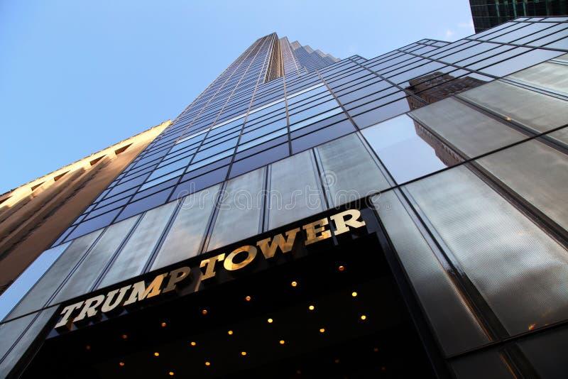 Trumpf-Turm lizenzfreie stockbilder