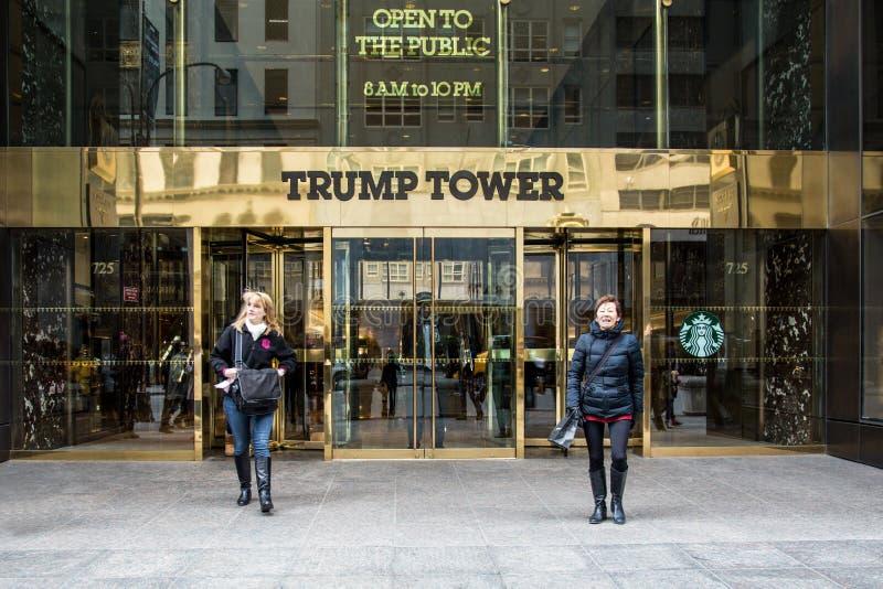 Trumpf-Turm NYC lizenzfreies stockfoto