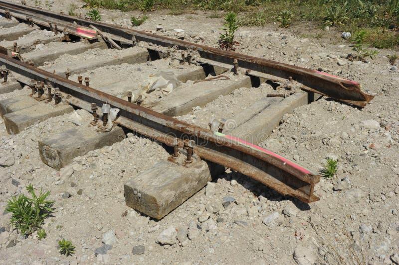 Truncated Railway Track