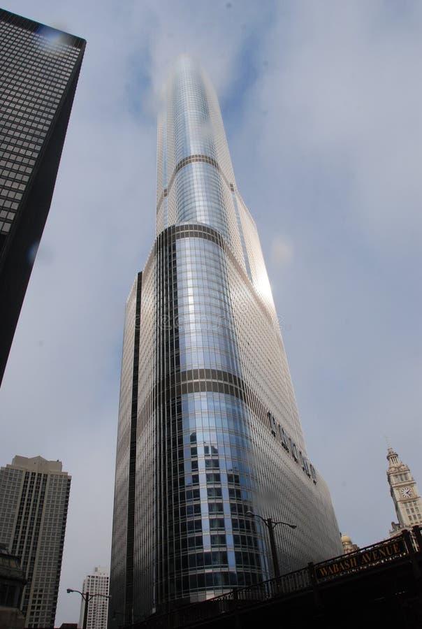 Trunfo que constrói Chicago imagem de stock royalty free