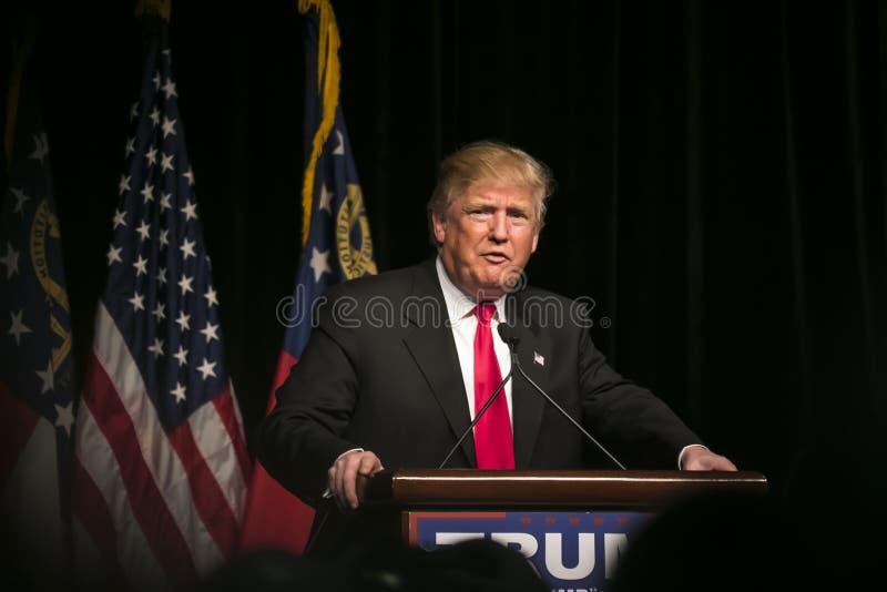 Trunfo republicano de Donald J do candidato presidencial imagem de stock