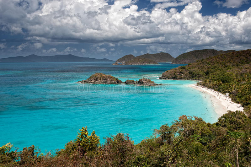Download Trunk Bay stock photo. Image of states, snorkel, island - 31490048