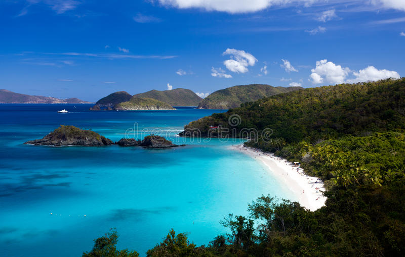 Download Trunk Bay On St John Stock Images - Image: 18487424
