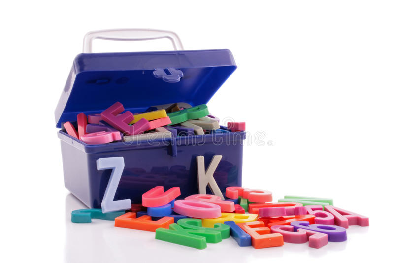 Download Trunk of learning stock photo. Image of alphabet, opened - 23541676
