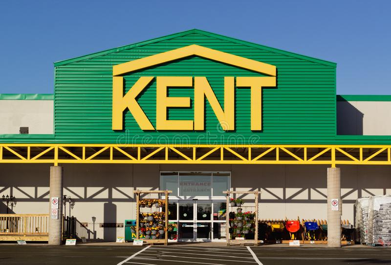 Kent Building Supplies Store stock photography