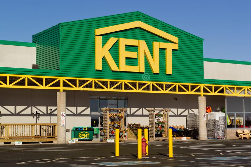 Kent Building Supplies Store royalty free stock photography
