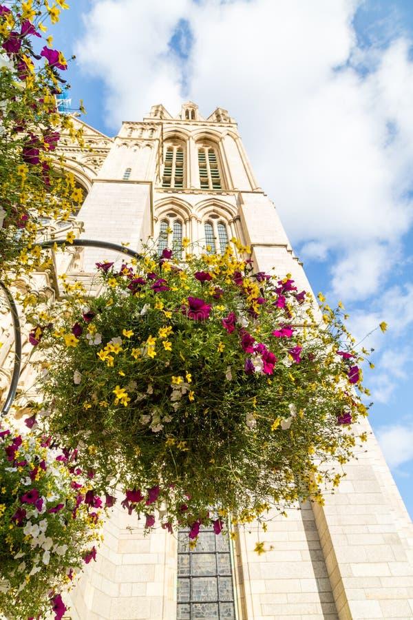 Truro katedra w Cornwall uk Anglia obrazy royalty free