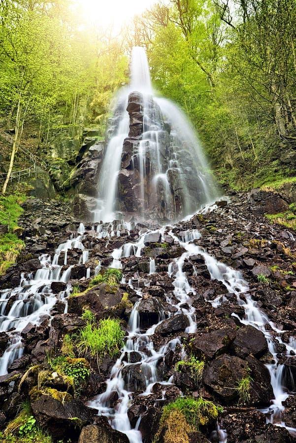 Trusetal vattenfall royaltyfria bilder