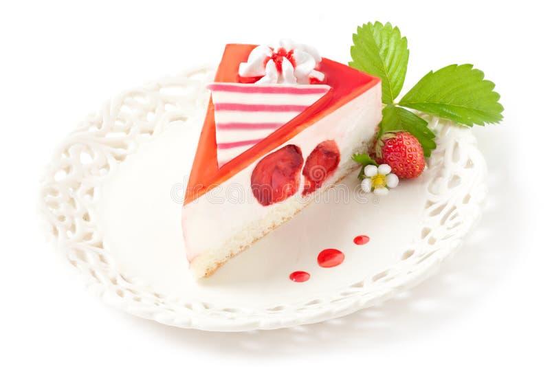 Truskawka tort zdjęcia stock