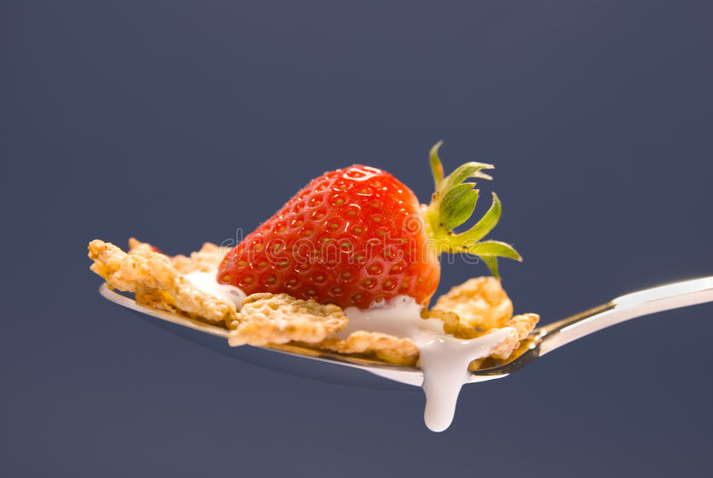 truskawka zbóż zdjęcia stock