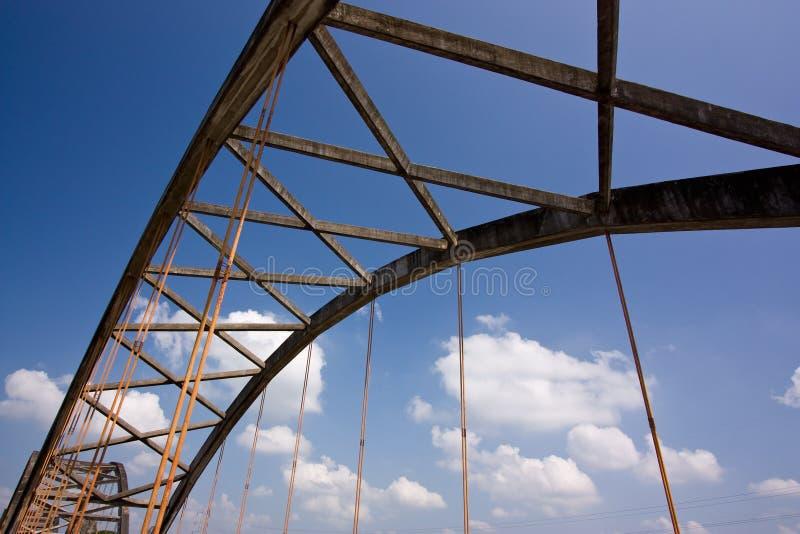 Truss bridge stock photography