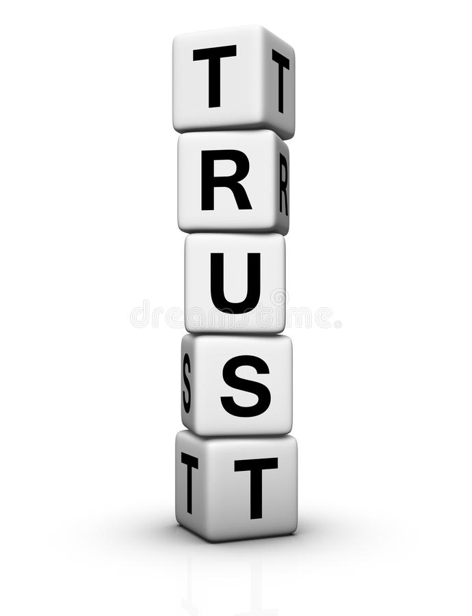Download Trust stock photo. Image of marketing, reliance, dice - 17011114