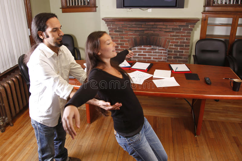Download Trust fall stock image. Image of exercise, client, career - 19516133
