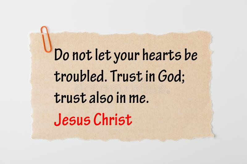 Trust in God royalty free stock photo