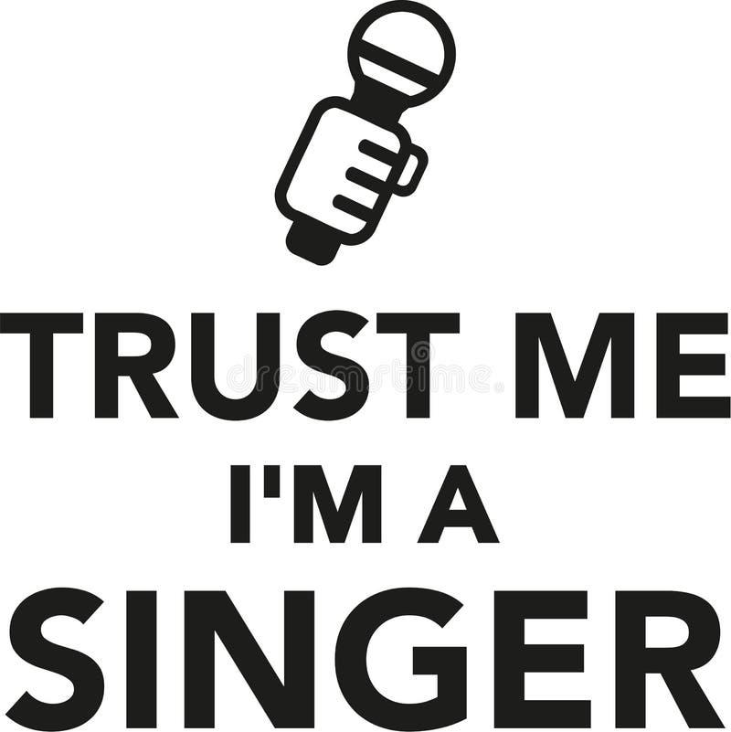 Free Trust Me I`m A Singer Stock Photo - 107105240