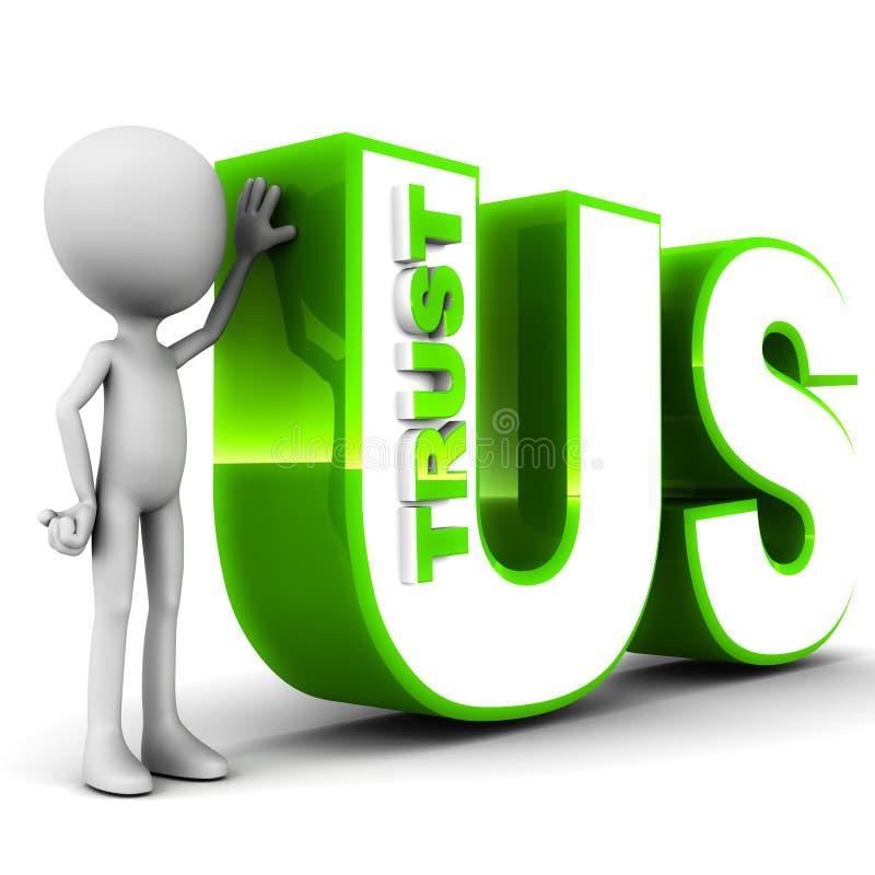 Download Trust us stock illustration. Illustration of have, depend - 28475039