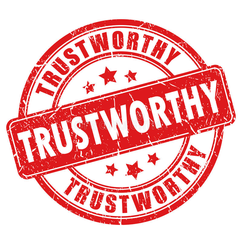 Free Trustworthy Rubber Stamp Stock Images - 80917304