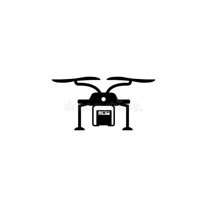 truteń dostarcza kocowania pudełka ikonę Element logistycznie dla mobilnych pojęcia i sieci apps Ikona dla strony internetowej de ilustracji