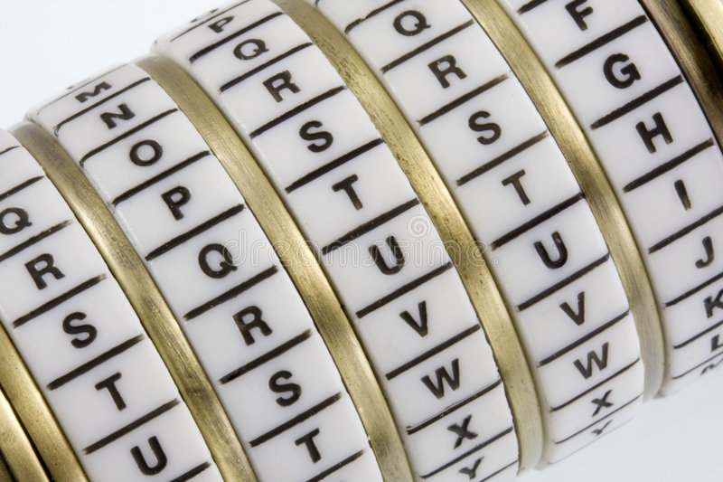 TRUTH - keyword set in combination puzzle box royalty free stock photography