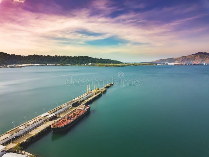 Trutnia widok molo w zatoce zdjęcie royalty free