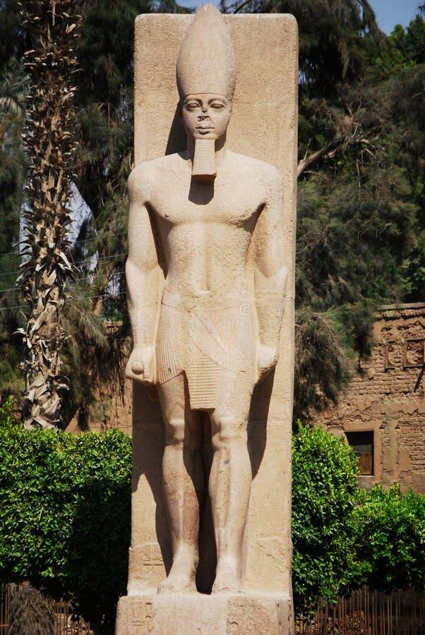 Trwanie statua Ramses II, Egipt obraz stock