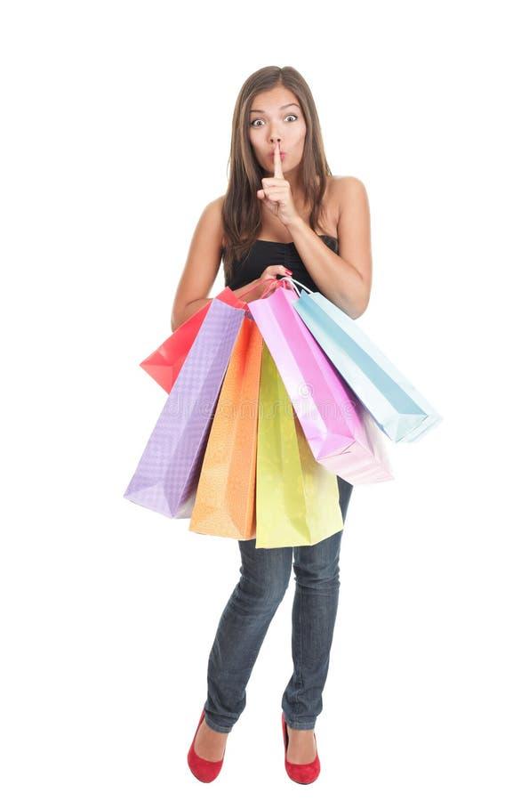 trwanie zakupy kobieta fotografia stock