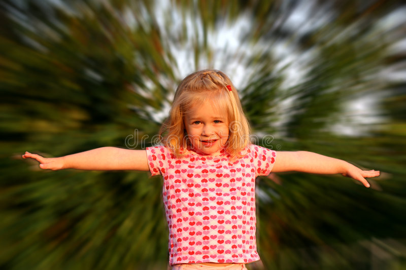 Download Try to fly stock image. Image of hearts, smile, face, chuckle - 180201
