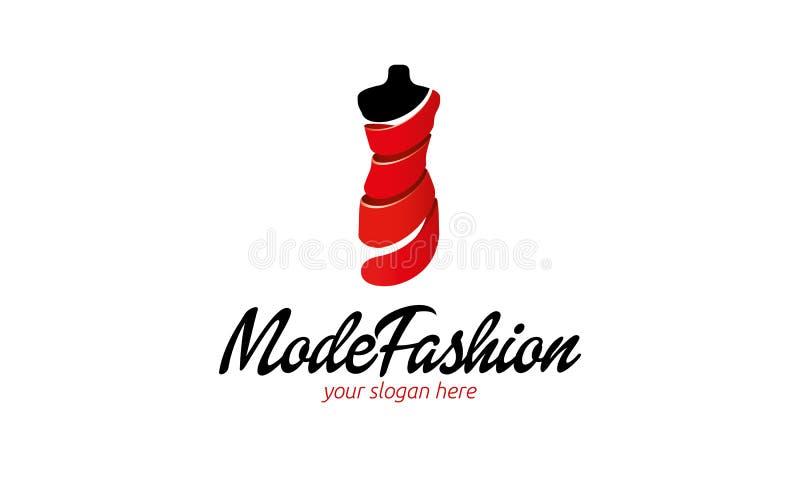 Tryb mody logo ilustracja wektor
