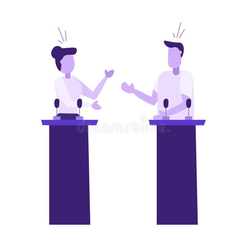 tryck vektor illustrationer