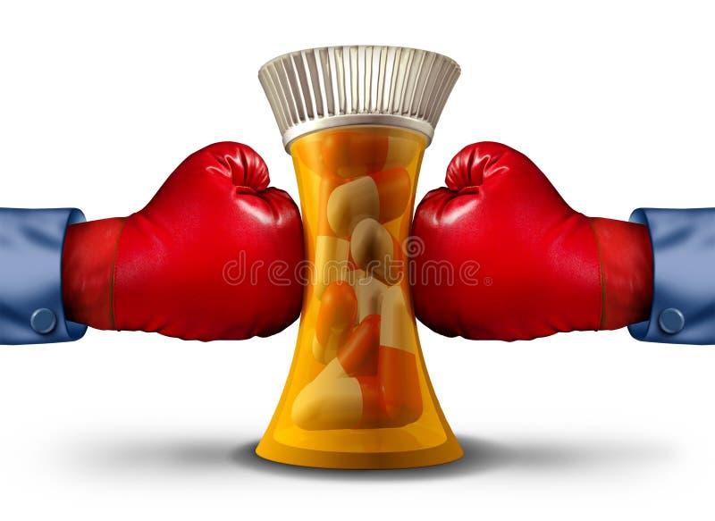 Tryck för farmaceutisk bransch royaltyfri illustrationer
