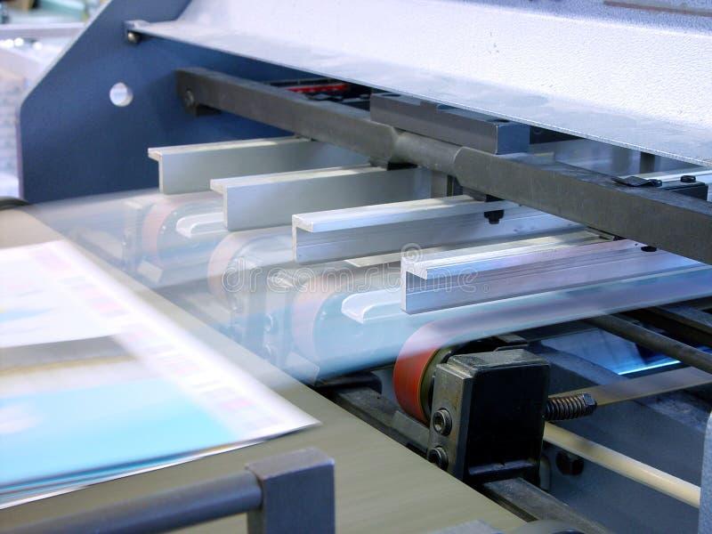tryck på printing royaltyfria foton