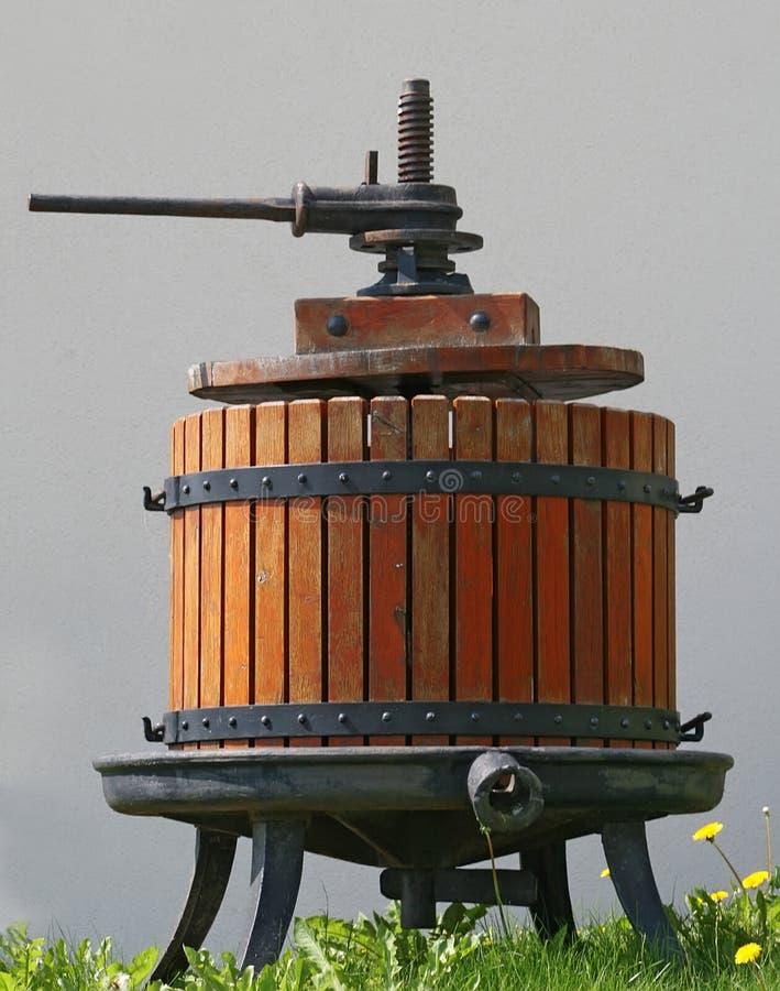tryck på wine royaltyfri foto
