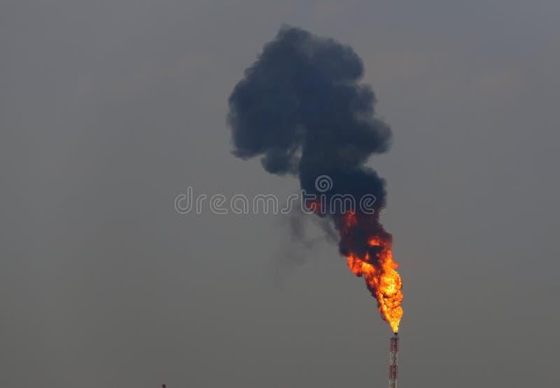 tryckvågbrand fotografering för bildbyråer