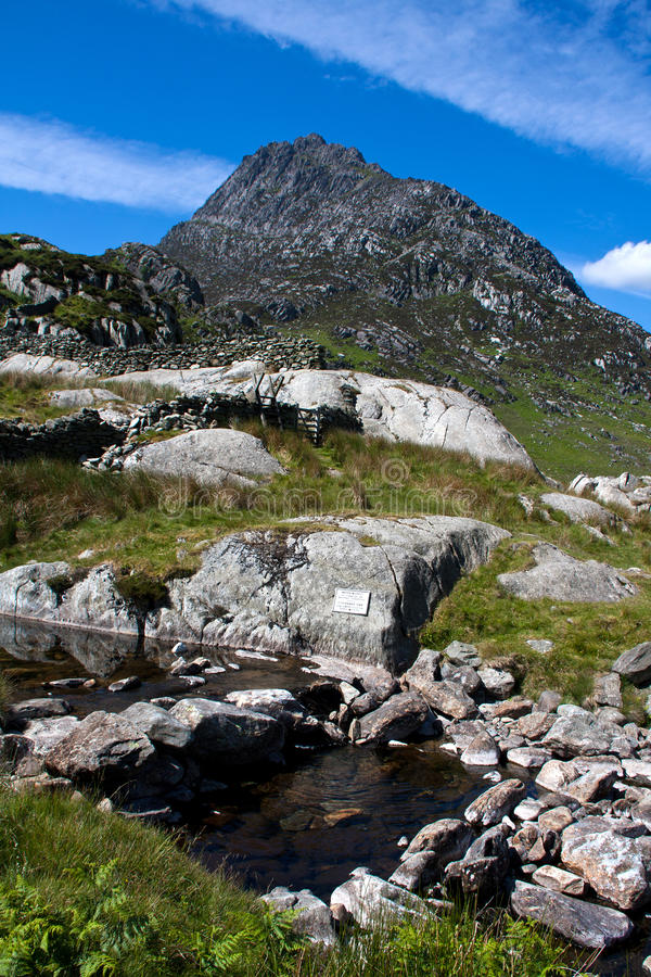 Tryfan Mountain royalty free stock photo