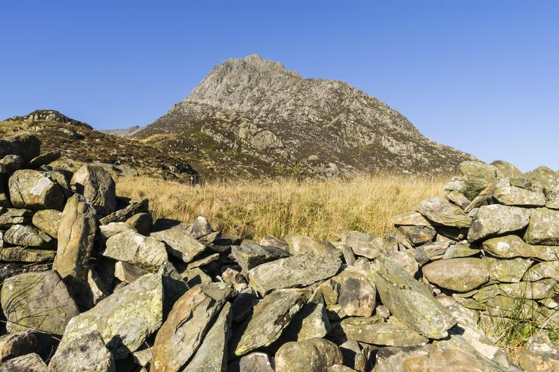Tryfan. stock photography