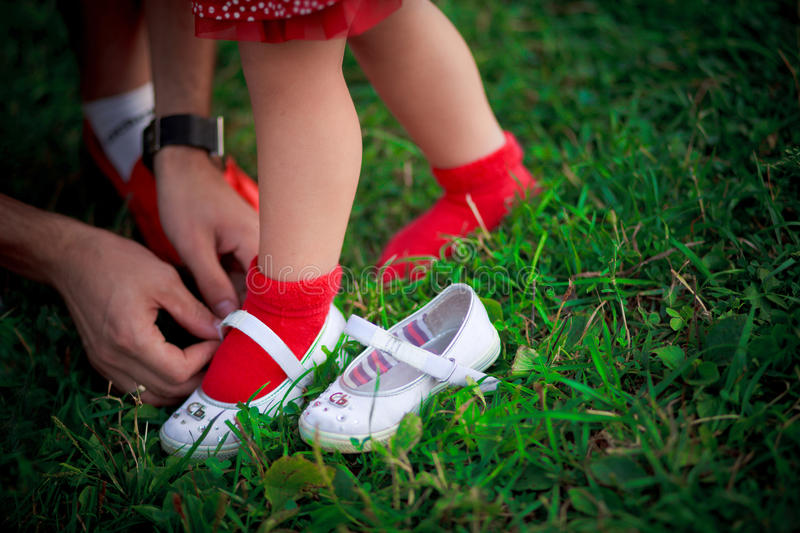 Download Trying On Shoes Royalty Free Stock Image - Image: 23346986